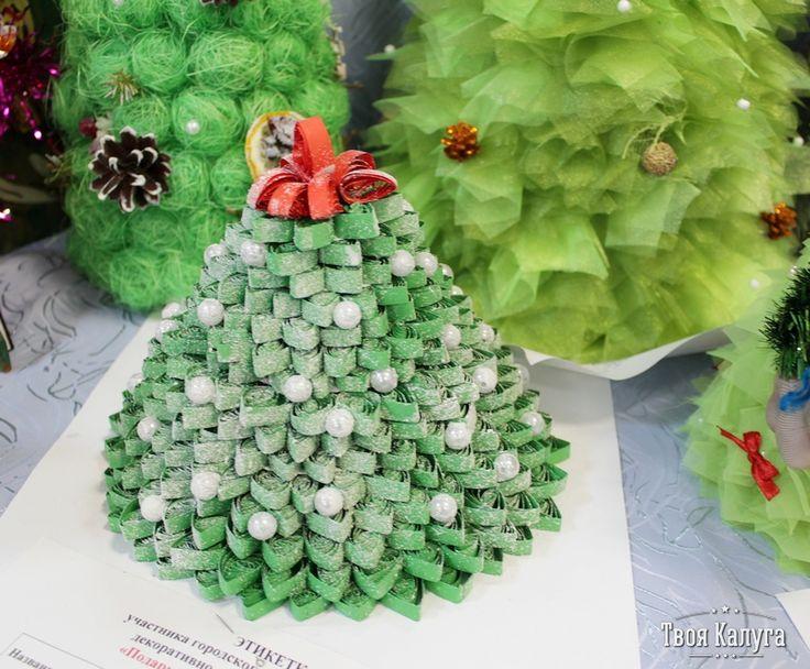 Елка-квилинг. Christmas tree. Ideas
