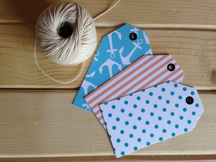 Gift tags - Anchors by Peg & Pencil for sale on http://hellopretty.co.za