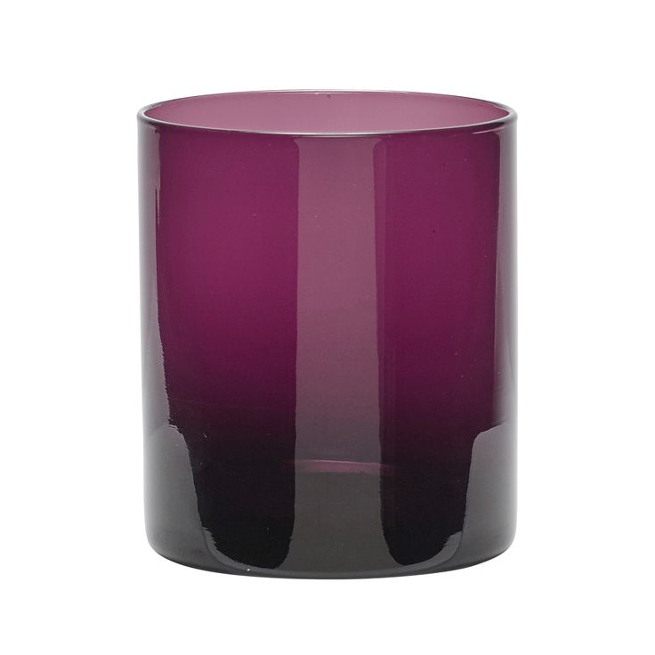 Purple tealight glass. Product number: 480103 - Designed by Hübsch