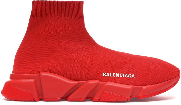 Balenciaga Speed Trainer Red in 2020