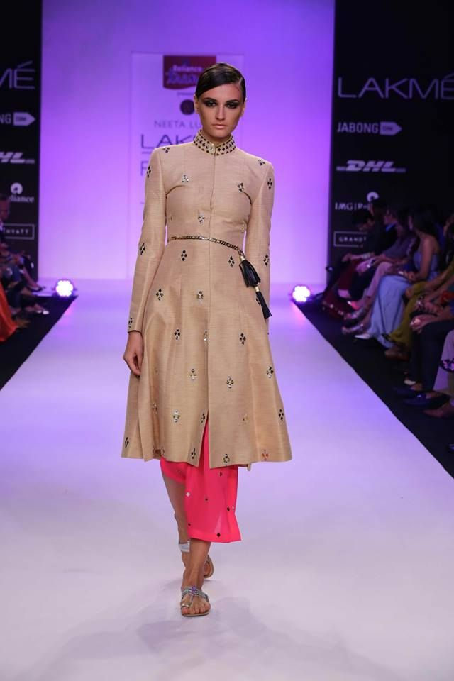 Nishka Lulla at Lakme Fashion Week 2014.