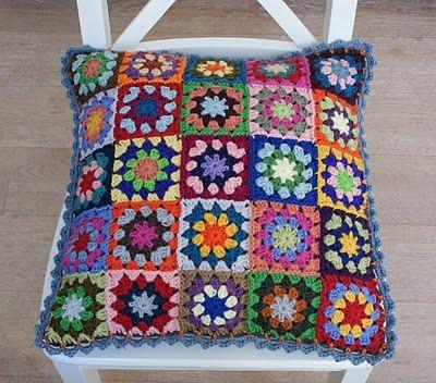 (2) Gallery.ru / Фото #86 - CUADRADITOS crochet - griega