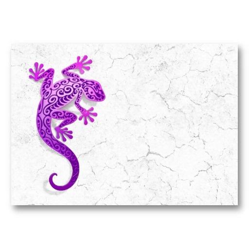 purple lizard - would be cool tattoo.