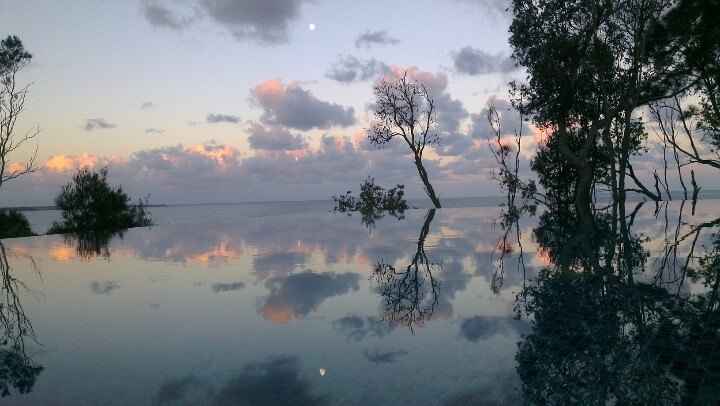 Sunset Reflections, Bannisters Resort, Mollymook, Australia