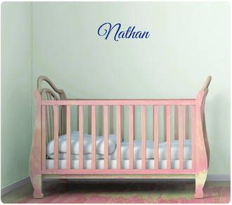 cursive letter wall decals - ideal for kids names