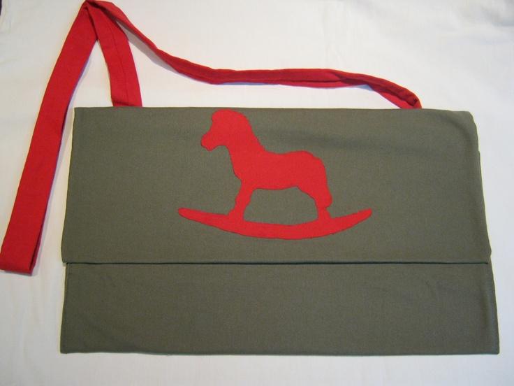Handmade unisex messenger canvas bag