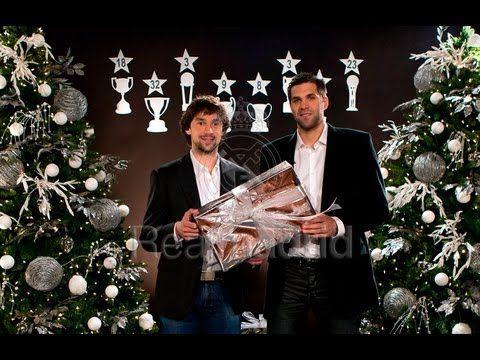 Real Madrid  Significado de la Navidad para Florentino Pérez Pablo Laso Felipe Reyes y Sergio Llull