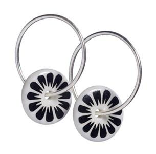 FLOWER øreringe, lille #SCHERNING