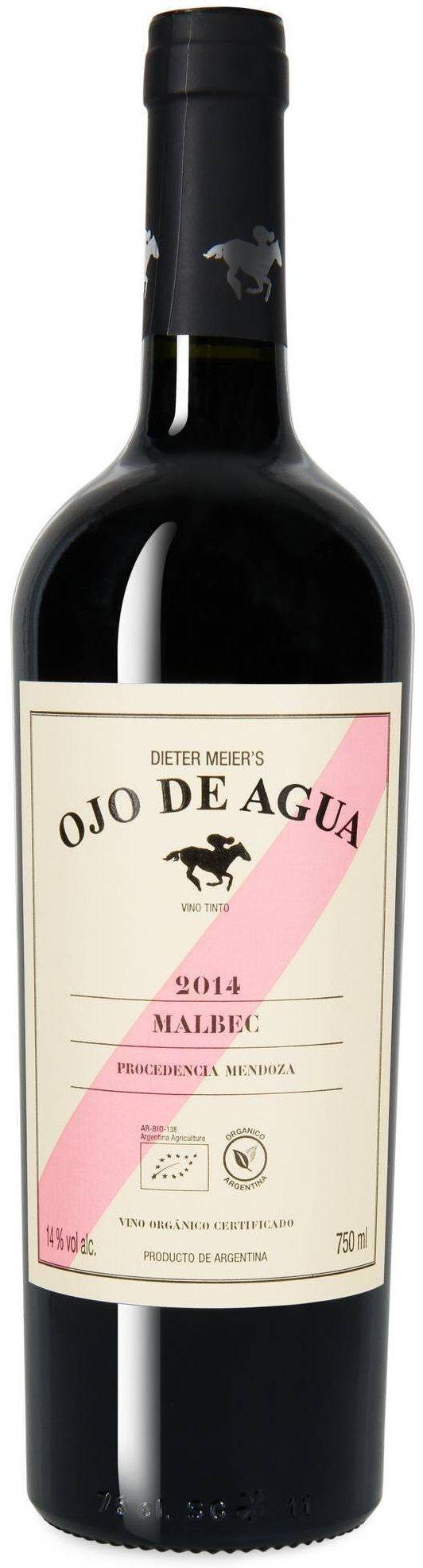 """""""Ojo de Agua"""" Malbec 2012 / 2013 - Bodega Ojo de Vino, Luján de Cuyo, Mendoza----------- Terroir: Agrelo"""