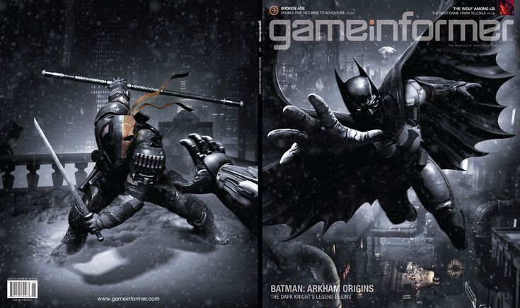 Announced for release this year are Batman: Arkham Origins and Batman: Arkham Origins Blackgate, the next installments of the blockbuster videogame franchise.