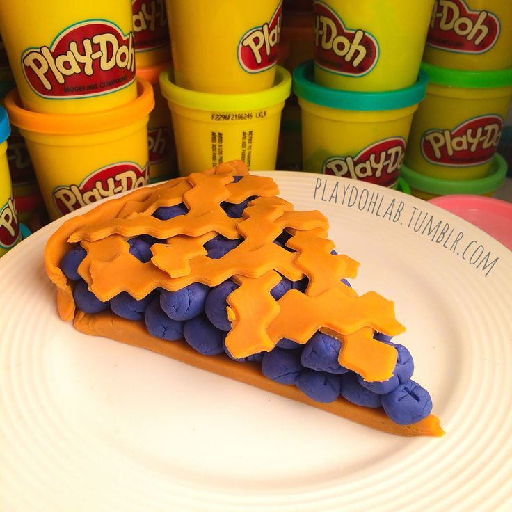 Play doh food happy pi day playdoh food pie happy for Play doh cuisine