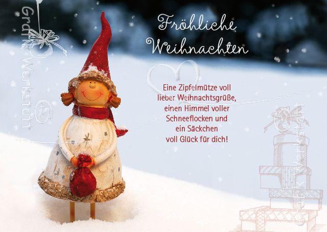 Fröhliche Weihnachten Sprüche Für Karten