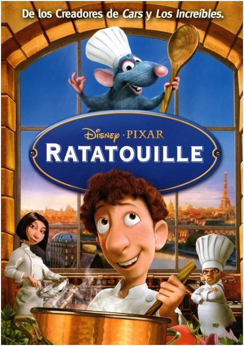Ratatouille es una película de animación por ordenador producida por Pixar y distribuida por Walt Disney Pictures, fue estrenada en el 2007.