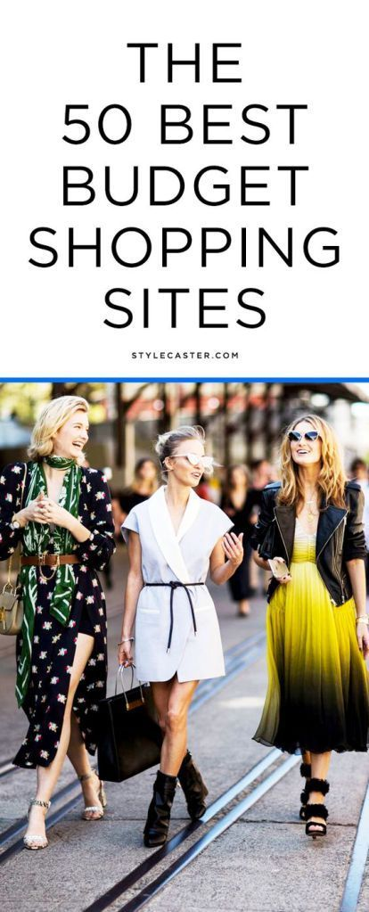 The 55 Best Cheap Shopping Sites | StyleCaster  @Stylebornwithu *currently