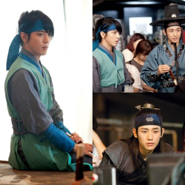 Jung Hae In, Jung Yong Hwa - Three Musketeers