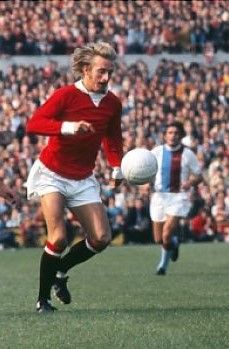 Denis Law Manchester United 1971