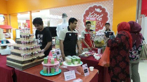 With customer & team