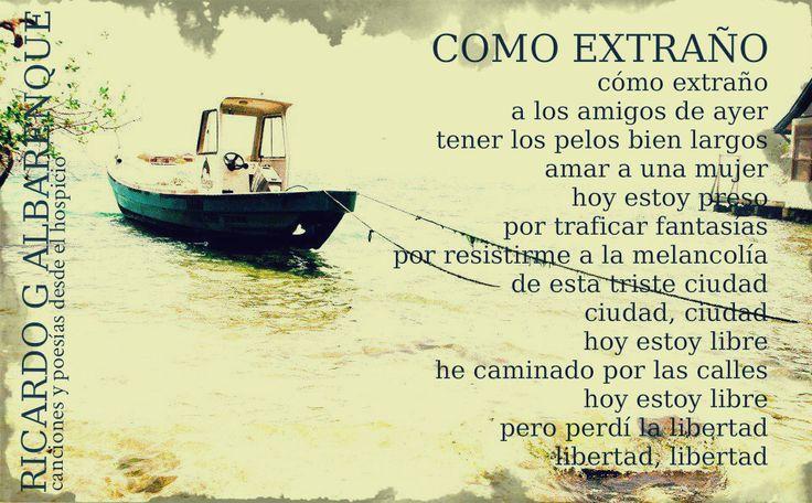 Ricardo Gabriel Albarenque Imagenes barco palabras literatura poesía