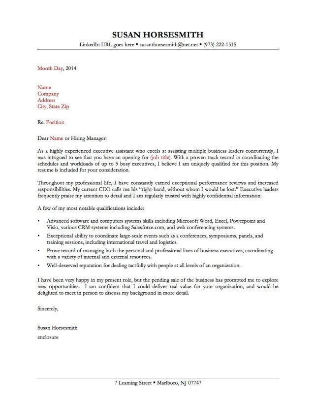 Pin By Shaikh J On Letter S Administrative Assistant Cover Letter Cover Letter For Resume Resume Cover Letter Examples