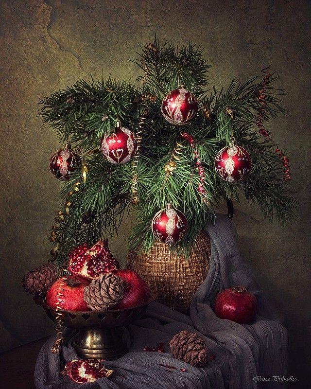 Чудесные новогодние натюрморты ♫♪♫♪. Обсуждение на LiveInternet - Российский Сервис Онлайн-Дневников