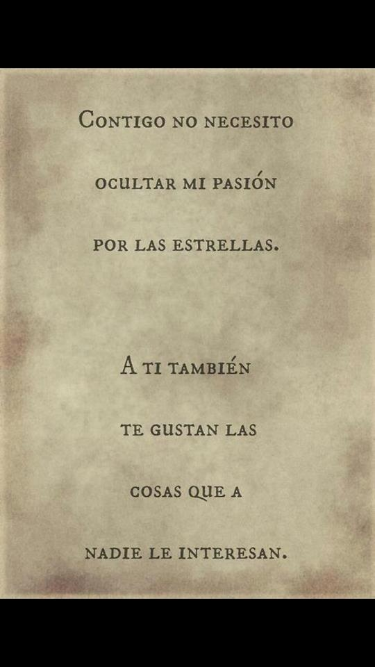 <3 Contigo...#frases amor