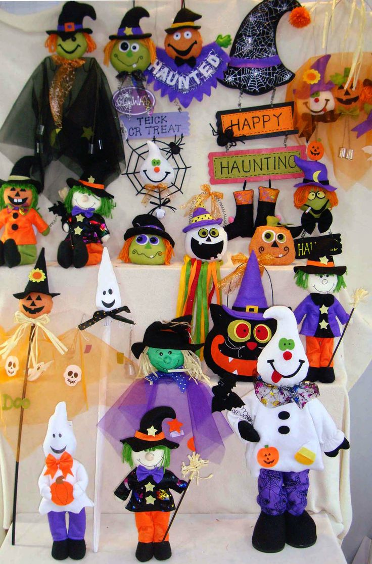 Handmade Cloth Art for Halloween decoration from Quanzhou Ruihua Crafts Company/China