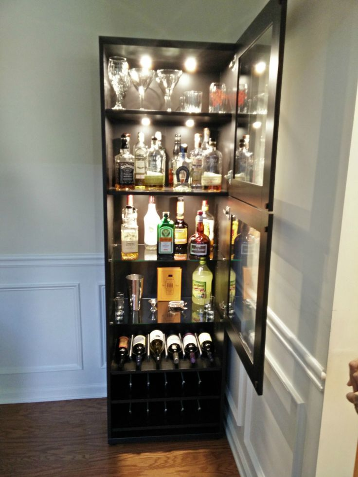 Ikea Liquor Cabinet Build In 2019 Liquor Cabinet