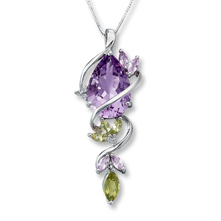 amethyst necklace - Google Search