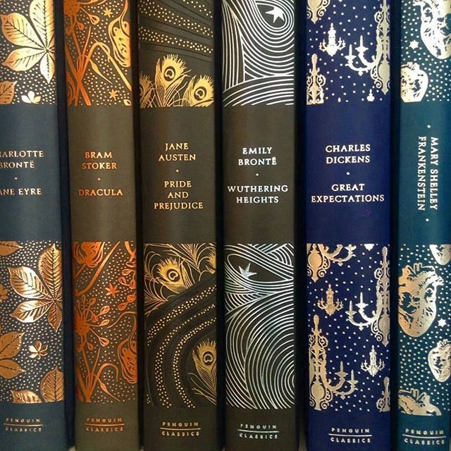 At Pretty Page Turner our favorite cover models are books. By far the prettiest covers I've seen of these classics!