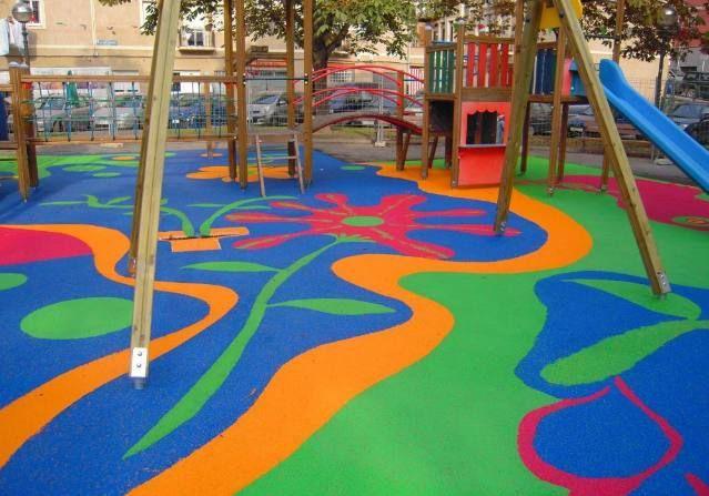 parques infantiles de caucho - Buscar con Google