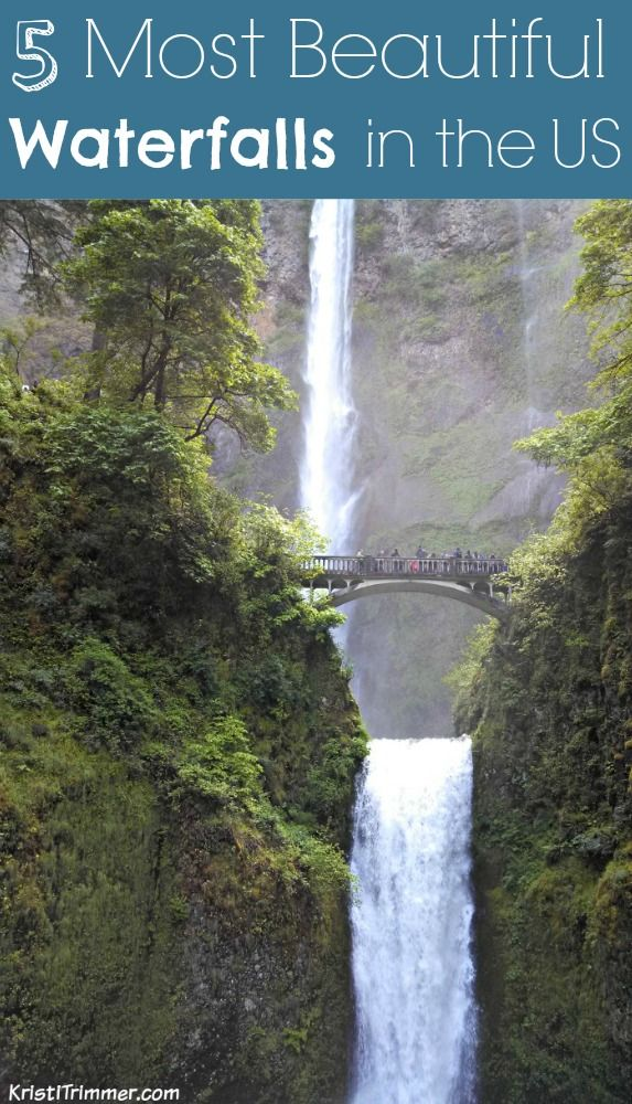Top 5 Most Beautiful Waterfalls In The Us