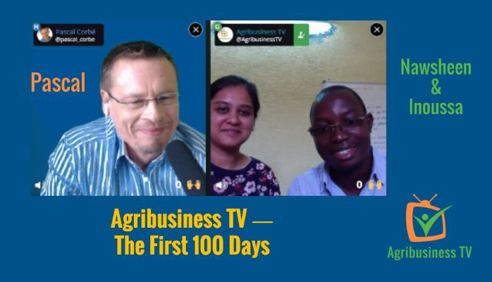 The First 100 Days of Agribusiness TV ― Join Us for a Blab Talk!