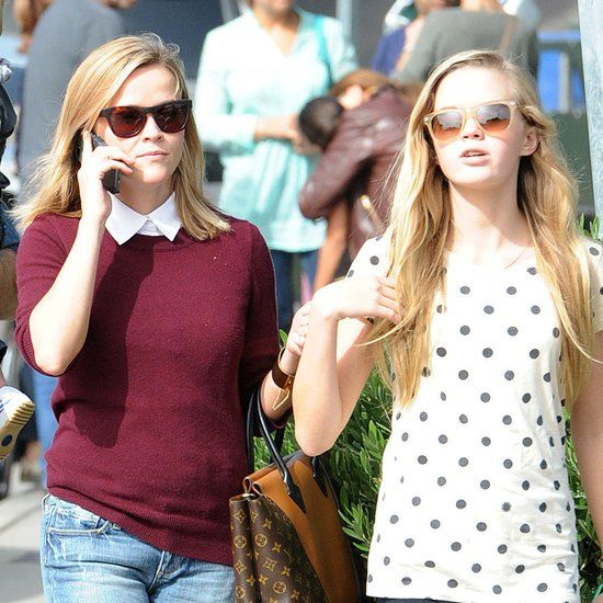 Reese Witherspoon With Daughter Ava in LA
