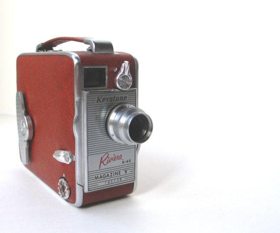 Vintage Keystone 8mm Camera Model Riviera by TheVintageResource: Keystone 8Mm, Camera Model, La Vintage, Model Riviera, Video Camera, 8Mm Video, Classic Cameras, Cameras