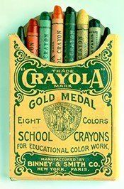 There was nothin' like a new box of Crayolas!