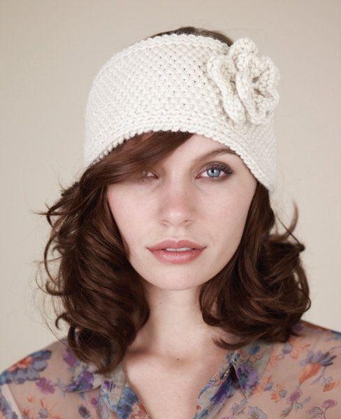 Free knitting pattern - Ski Bunny Headband by Sarah Hatton ...