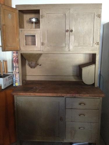 hoosier cabinet restoration pinterest
