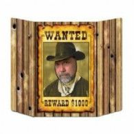 Wanted Poster Photo Prop $24.50 BE57981