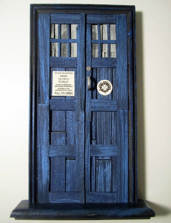 Tardis fairy door & 142 best ~ I LOVE Fairy Doors ~ images on Pinterest   Fairies garden ...