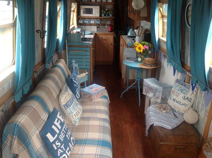 Narrow boat 57ft semi trad in Cars, Motorcycles & Vehicles, Boats & Watercraft, Narrowboats/Canalboats | eBay