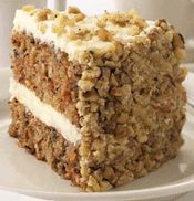 Morton Steakhouse's Signature Carrot Cake