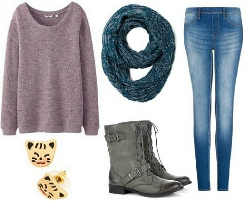 Exactly my thinking today -- 6 Comfy Yet Chic Lazy Day Outfits | CollegeFashion