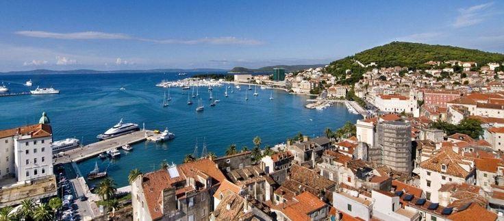 Il Viaggiatore Magazine - Vista dall'alto di Spalato, Croazia