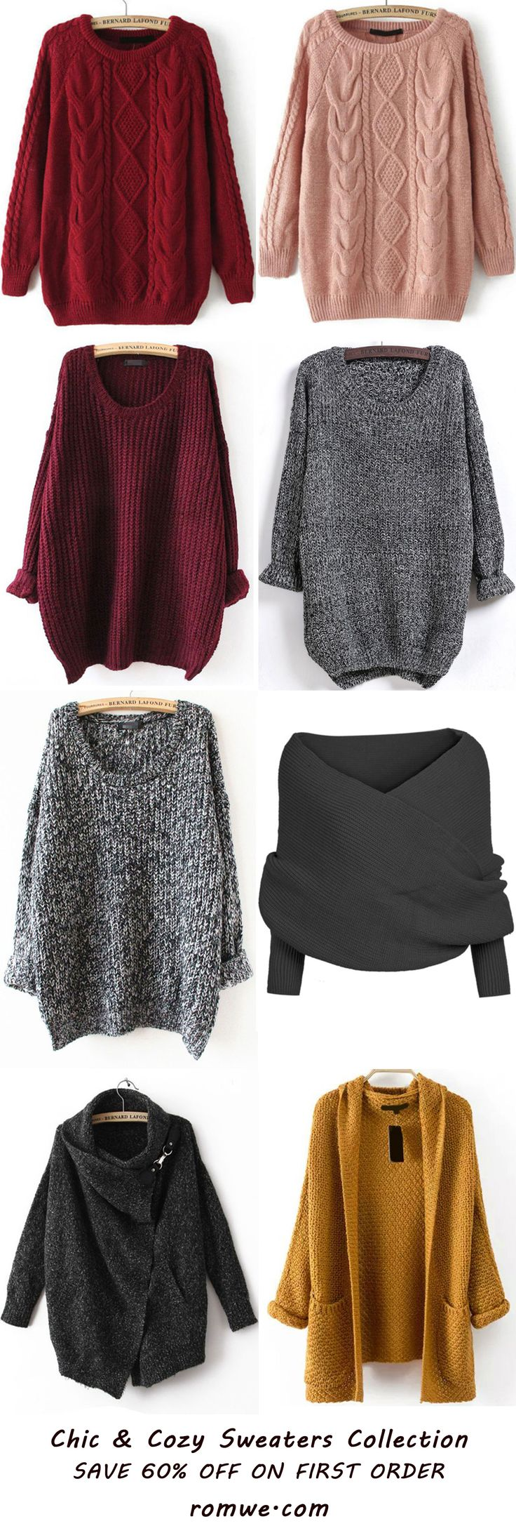 Sweaters Collection 2016 - romwe.com