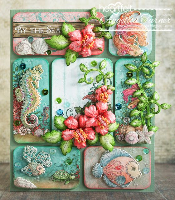New Under the Sea Collection from Heartfelt Creations