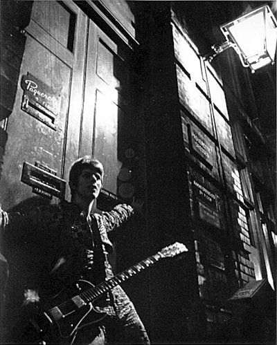 Ziggy Stardust Album Cover Out-take #8   Photographer: Brian Ward   January 1972