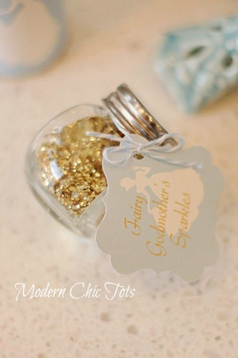 """Cinderella party! DIY party printables write on the other side of the tag """"have fun out there and sparkle on stage!"""""""