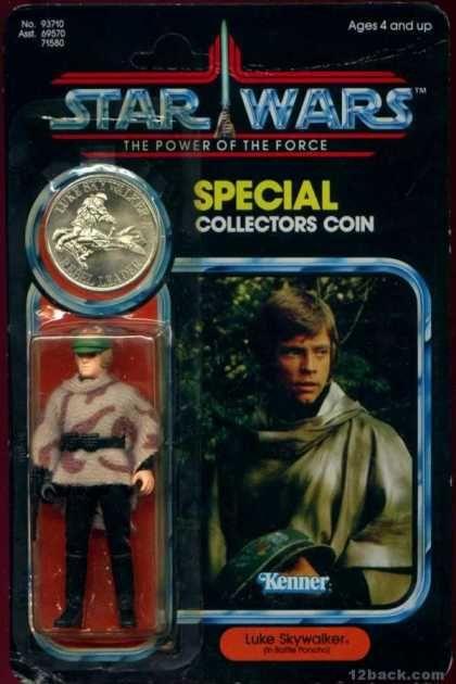 Action Figure Boxes - Star Wars: Luke Skywalker