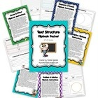 Each flip book can be purchased separately by text structure or in this complete packet which includes ALL 5 types of text structures (Description,...