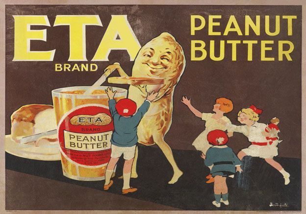 Peanut Butter Advertising Poster